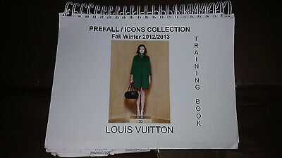 Auth Louis Vuitton Prefall & Icon Collection Book Catalog Fall Winter 2012 2013