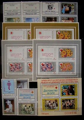 MACEDONIA 1993 Charity Stamps MNH