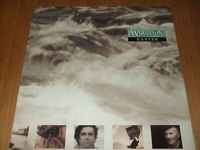 """Marillion - Easter / The Release / The Uninvited Guest (Live) 12"""" Single"""