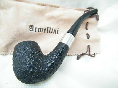 NEW SMOKING  PIPE BRIER UNSMOKED ARMELLIN Classic 9 MM filter #584