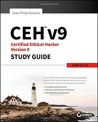 DiGiTAL PDF BOOK: +CEH v9 Certified Ethical Hacker Study Guide  – 17 Jun 2016