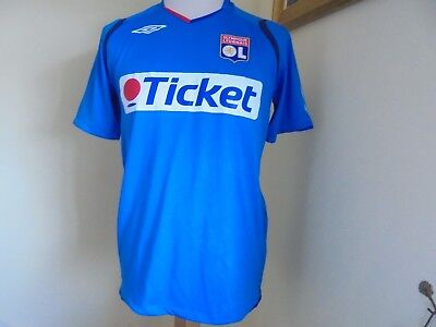 2008 - 2009 Olympique Lyonnais Lyon Third Shirt, VGC Medium Umbro
