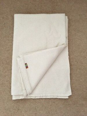 Yogamatters Cotton Yoga Blanket Natural - Bargain Price Used Once
