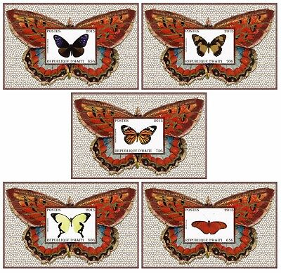 16 Sheets Collection Butterflies Papillons Mariposas Schmetterlingen Insects