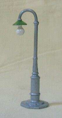 Electric Light Standard, gooseneck street light lamppost, Reproduction Johillco