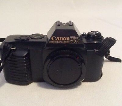 Canon T50 35mm SLR BODY (Excellent Condition And Working Order)