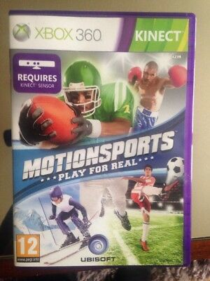 Xbox 360 Kinect Motion sports