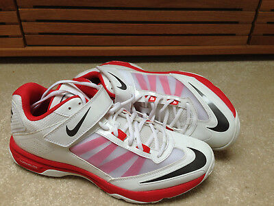 NIKE LUNAR ACCELERATE CRICKET SHOES BOWLING SPIKES ODD PAIR 10 / 45  and 11 / 46