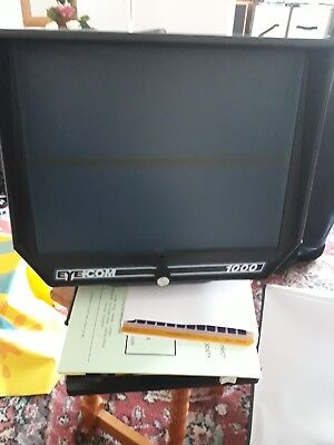 EYE COM 1000 PORTABLE MICROFICHE READER (Used - Excellent Condition)