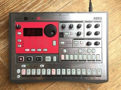 Korg Electribe Er-1 ER1 drum machine sequencer and 9v uk power supply