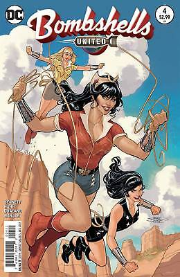 Bombshells United #4 (2017) 1St Printing Bagged & Boarded Dc Comics