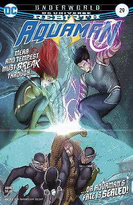 Aquaman #29 (2017) 1St Printing Dc Universe Rebirth Bagged & Boarded