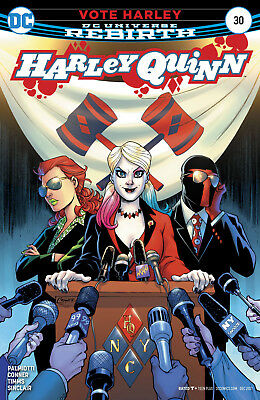 Harley Quinn #30 (2017) 1St Printing Bagged & Boarded Dc Universe Rebirth