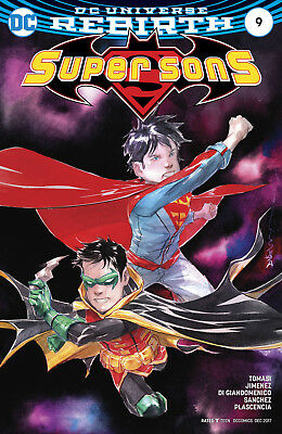 Super Sons #9 (2017) 1St Printing Variant Cover Dc Universe Rebirth
