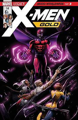 X-Men Gold #14 (2017) 1St Printing Bagged & Boarded Marvel Legacy Tie-In