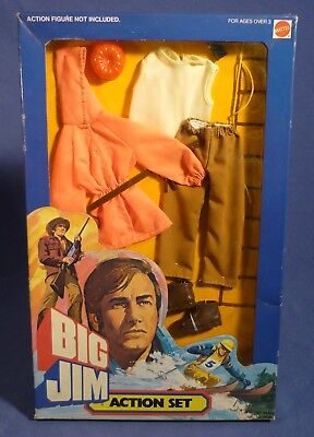 BIG JIM 9490 Action Set Mountain Rescue Outfit Bergrettung MIB OVP MATTEL G173