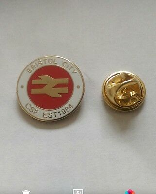 Bristol City Csf Pin Badge