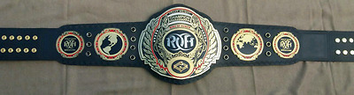 Ring of Honor wrestling championship belt adult