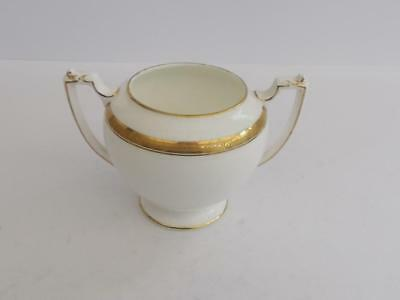 "Coalport ""Elite Gold"" Twin Handle Sugar Bowl."