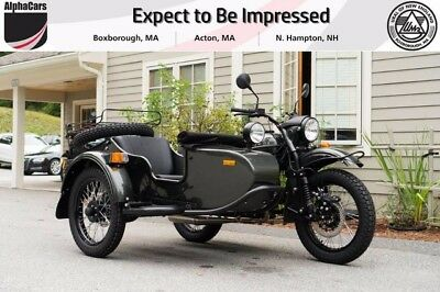 2017 Ural Gear Up 2WD Cascade Green Metallic Custom  Brand New Color Brembo Brakes EFI Reverse Gear Financing & Trades