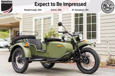 2017 Ural Gear Up 2WD Taiga Custom  Updated Model Parking Brake Brembos Financing & Trades