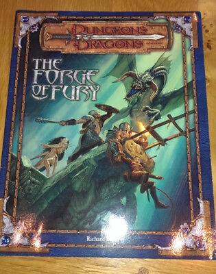 Dungeons and Dragons The Forge of Fury