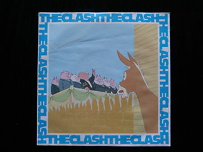 The Clash Rock The Casbah Vinyl 7 Quot Record Stickers Uk