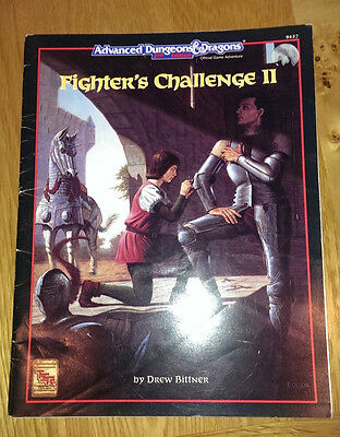 Advanced Dungeons and Dragons Fighter's Challenge 11