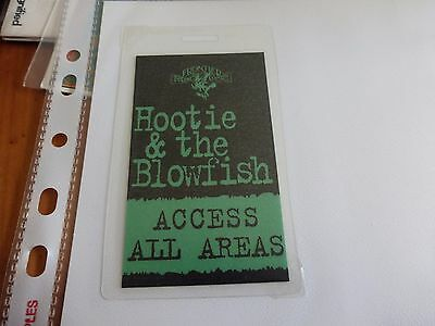 Hootie & The Blowfish - Access All Areas Laminated Pass