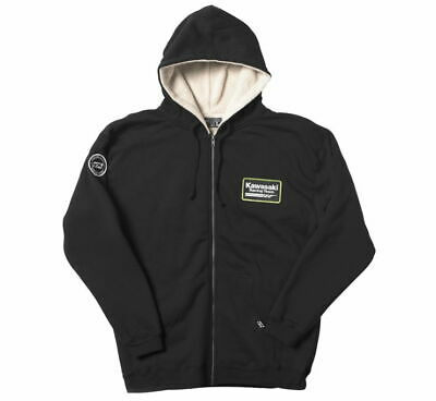 NEW FACTORY EFFEX Men's Kawasaki Sherpa Zip Hoody