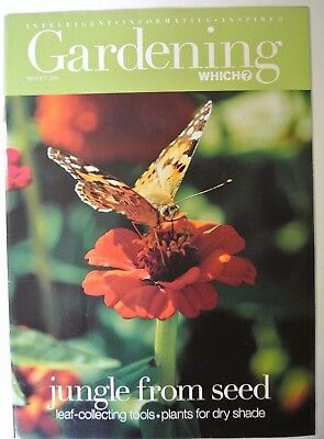 Gardening Which? Magazine. September/October, 2001. Jungle from seed.