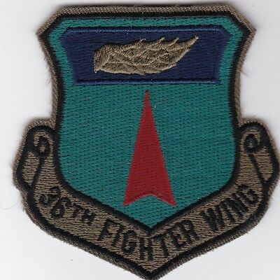 USAF air force 36TH TACTICAL FIGHTER WING  Bitburg AB, Germany USAFE patch