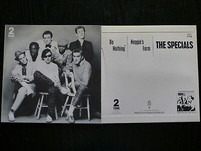 "The Specials - Do Nothing 7"" Picture Sleeve (No Disc)"