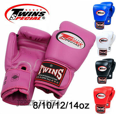 Twins Boxing Gloves Special Muay Thai 8 10 12 14 oz BGVL3 MMA Signature Gloves