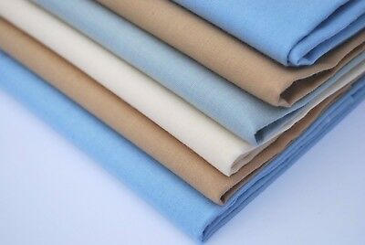 100% Cotton Mens Handkerchiefs Large King Size 50 Cm Soft Colour Retail Six Pack