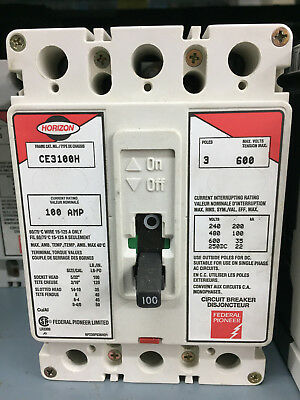 Federal Pioneer FPE Horizon CE3100H 3 Pole 100A 6000V *GUARANTEED*