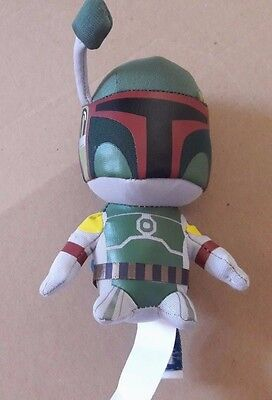 "Star Wars Boba Fett Mini Plush 5"" Lucas Film #f"