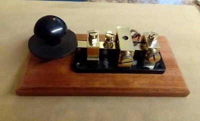Morse Key Air Ministry 10F/2533 1940 CW Telegraph Key WT 8 amp series WW2