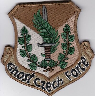 czech air force ghost czech force Iraq Inherent Resolve patch