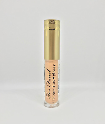 Too Faced / Lip Injection Glossy / Milkshake NUDE / 1g Travel Size / NEW