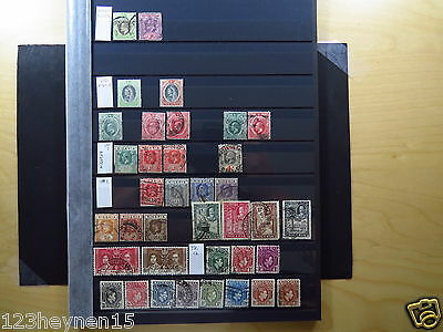 Small Collection Stamps Nigeria Southern Northern Animals Sport Boy Scouts used