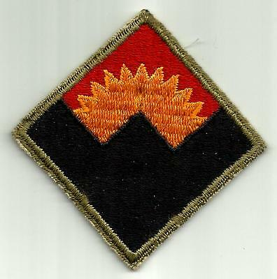 US Army Defense Command Western SSI Patch
