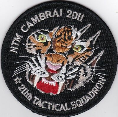 czech air force 211th sqn NTM nato tiger meet cambrai 2011 france patch