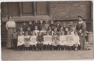 Rp St Barnabas School , Bexhill Sussex  ,  Social History  1909