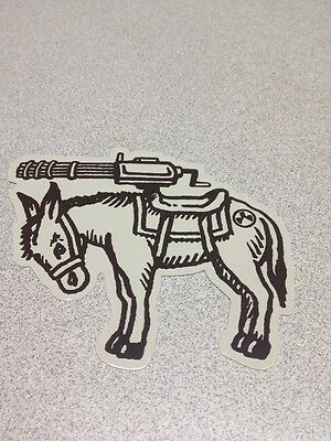 Magpul Authentic PMAG Donkey Carrying Gun Sticker L@@K NICE