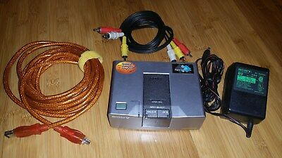 Sony DVMC-DA2 Media Converter DV Hardware Codec with Power Adapter and 1394 Cord