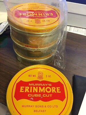 Murray's Erinmore Factory Sealed Full Cube Cut 2oz Tin over 45 years old (RARE)