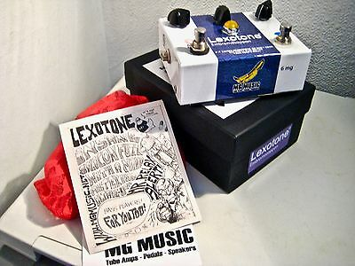 MG EFFECTS☆LEXOTONE☆FUZZ OCTAVE UP PEDAL☆M.I Brazil☆WORK OF ART☆JIMI HENDRIX