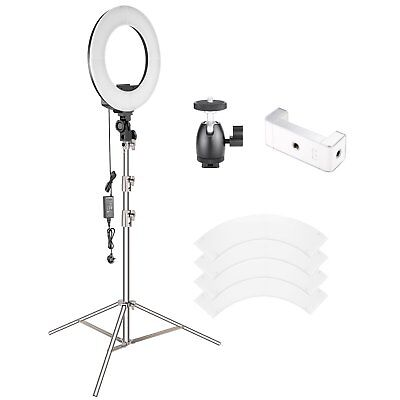 Neewer 18 inches Ring Light with Stand Kit-Bi-color 55W Dimmable LED SMD Ring