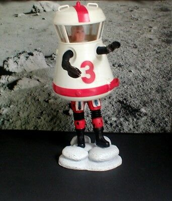 Major Matt Mason Mattel 1966 Astronaut Sgt Storm Moon suit no broken wires !!!